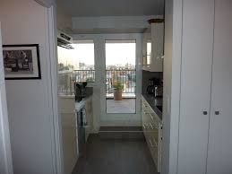 luxury designer 1br flat with terrasse and balcony 360 view 17th
