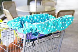 a universal shopping cart and high chair cover a tutorial and