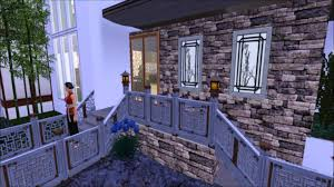 Chinese Style Home Decor The Sims 3 House Building Chinese Style House Youtube