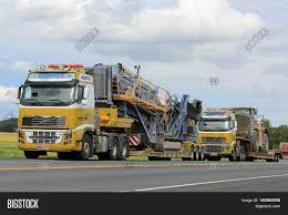 2016 volvo semi truck salo finland july 30 2016 two image u0026 photo bigstock