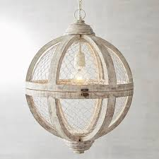 Chicken Wire Chandelier Viewing Photos Of Chicken Wire Pendant Lights Showing 15 Of 15