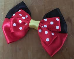 minnie mouse hair bow disney inspired minnie mouse hair bow and by closetgeeksite