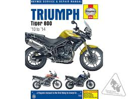 haynes repair manual for triumph tiger 800 u0026 tiger 800 xc u002710 u002714