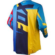 kids motocross gear australia all new fox racing 2015 kids 180 vandal jersey yellow blue wide