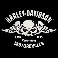 harley davidson embossed flying skull button tin sign 14 harley
