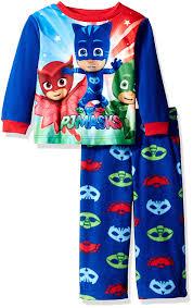 pj mask toddler boys 2 fleece pajama set clothing