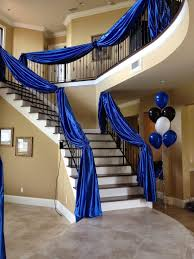 Staircase Banister Ideas Diy Wedding Crafts Fabric Draped Staircase Banister Idea U2022 Diy