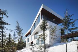 House For House Quebec Chalet With Access To World Class Skiing The St Lawrence