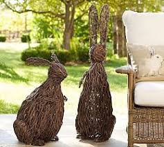 Large Easter Outdoor Decorations by Best 25 Outdoor Easter Decorations Ideas On Pinterest Happy
