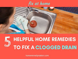 Home Remedy For Clogged Bathroom Sink The 25 Best Clogged Drains Ideas On Pinterest Unclogging Drains