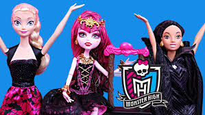 disney princess monster dolls creepateria draculaura spectra