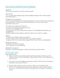 How To Hand In Resume How To List General Ed On Resume Resume Template Example