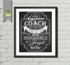 personalised quote gifts coach appreciation gift coach poster card thank you sports