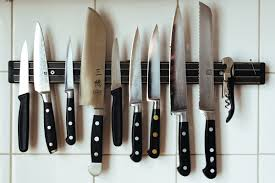 stop ruining your knives easy tips for a sharper blade reviewed a magnetic knife strip is a great alternative to a knife block