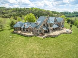 French Chateau Homes by French Chateau On 46 Acres A Luxury Home For Sale In Troutville