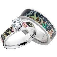 camo wedding rings his and hers wedding rings sets for him and ideas modern wedding rings