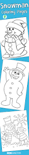 snowman online coloring pages and build your own snowman coloring