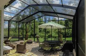 How Much To Concrete Backyard 2017 Enclosed Patio Cost Patio Enclosures Prices