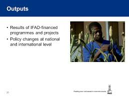 Rural Finance In Selected Ifad Financed Operations Dr Ifad Strategic Framework Concept Note Ppt