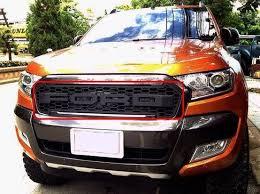 front grill ford ranger black ford ranger 2016 onwards raptor styled front grille mesh