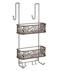 interdesign over the door shower caddy stainless steel no