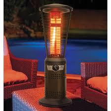 patio heaters phoenix the 10 000 btu spiral flame heater hammacher schlemmer