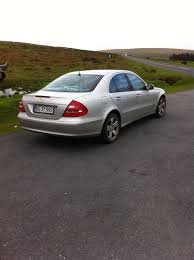 2003 mercedes e320 avantgarde aut oppositelock review
