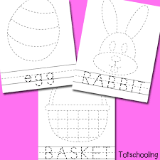 easter picture u0026 word tracing printables totschooling toddler