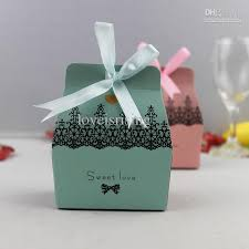 candy favor boxes wholesale best christmas candy boxes creative wholesale blue party favor box