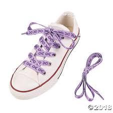ribbon shoe laces awareness ribbon shoelaces