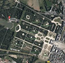 Versailles France Map by La Flottille Parc Du Chateau De Versailles Au Bord Du Grand Lac