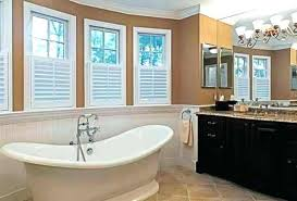 ideas for bathroom curtains amazing awesome houzz window treatment ideas bathroom window