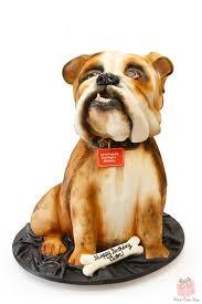 bulldog cake topper groom s bulldog cake grooms cakes