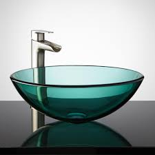 20 glass sink design ideas for bathroom inspirationseek com
