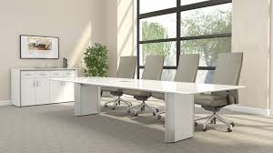 Modern Conference Table Design Chairs White Conference Tables White Contemporary Conference