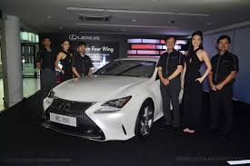 lexus malaysia for sale lexus malaysia welcomes the new rc 350 and rc f coupe