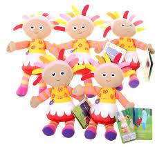 night garden upsy daisy mini soft toy party bag bundle 5