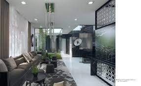 Natural Interior Concepts With FloorToCeiling Windows - Modern interior design concept