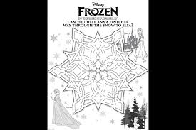 disney u0027s frozen free activity sheets kids pandora u0027s deals