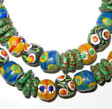 beads necklace handmade images Tina handmade krobo recycled glass beads necklace unique african arts jpg