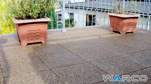 balcony flooring rubber floor tiles