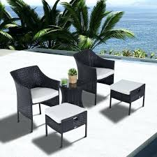 Pull Out Ottoman Wicker Chair With Pull Out Ottoman Top Outdoor Chair With Ottoman