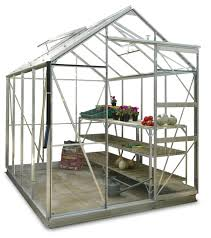 Greenhouse 6x8 Simplicity Shugborough 6x8 Greenhouse Starter Package