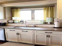 window decor kitchen sink window treatment new kitchen window