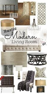 Modern Rustic Decor by Best 25 Rustic Modern Living Room Ideas Only On Pinterest