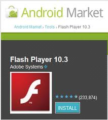 flash player android adobe flash player 10 3 for android gadgetian