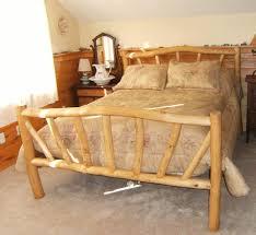 Wooden Log Beds Handmade Rustic Log Furniture By Nicoll Carpentry Llc Custommade Com