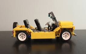 lego mini jeep the best and worst lego car ideas drivetribe