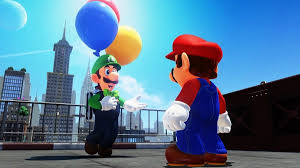 Seeking Balloon Cast Mario Odyssey Balloon World Update Where Is Luigi