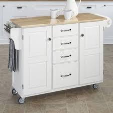 Kitchen Island Butchers Block White Kitchen Islands U0026 Carts You U0027ll Love Wayfair